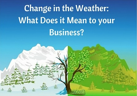 Change in the Weather—What Does it Mean to your Business_